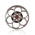 Old Fashioned Motion Picture Film Reel. Royalty Free Stock Photos - 89406158