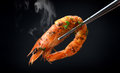 Grill Shrimp BBQ Style Stock Photography - 89461612