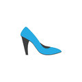 Woman Shoes Icon Royalty Free Stock Image - 89483556