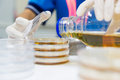 The Pour Plate Method Stock Photo - 89483760