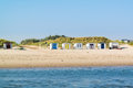 Beach Huts On Texel Island, Netherlands Stock Photos - 89503443