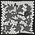 Ornament Modern Honeycomb Digital Camouflage. Royalty Free Stock Images - 89503549