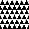Seamless Background Black And White Triangle Vector Stock Images - 89509394