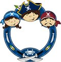 Cute Cartoon Pirate Royalty Free Stock Images - 89509739