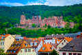 Close Up View Of Heidelberg Castle In Germany Royalty Free Stock Images - 89512249