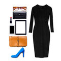 Still Life Of Business Clothing And Accessories Royalty Free Stock Photo - 89519285