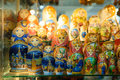 Matryoshkas In Russian Souvenir Shop In Moscow Royalty Free Stock Images - 89521579