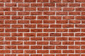 Red Brick Wall With Rough Texture And White Mortar. Royalty Free Stock Photos - 89571378