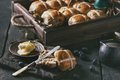 Hot Cross Buns Royalty Free Stock Images - 89576999