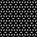 Vector Seamless Pattern, Simple Geometric Ornament Stock Image - 89579881