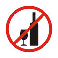 Do Not Drink Icon. No Drink Sign Isolated On White Background. R Stock Image - 89581321