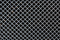 Metal Mesh Or Aluminum Grid On Black Background Stock Image - 89593021