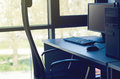 Office Workplace With Desktop Stock Photo - 89604550