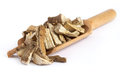 Dried And Sliced Marshmallow Root Royalty Free Stock Photography - 89632667