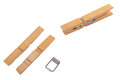 Wood Clothespins Royalty Free Stock Image - 89632976