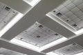 Light Neon From Ceiling Of Business Office Building Stock Image - 89646981