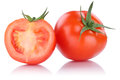 Tomatoes Tomato Sliced Vegetable Isolated Royalty Free Stock Images - 89652219