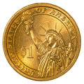 American One Dollar Coin Stock Photo - 89683270