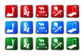 Sport Buttons Stock Photos - 8977673