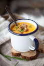 Sweet Potato Soup Royalty Free Stock Images - 89710269