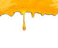 Honey Dripping From A Wooden Dipper Royalty Free Stock Images - 89725489