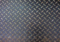 Metal Texture. Iron Floor Surface Photo. Metal Relief For Walking Path In Construction Area. Royalty Free Stock Photos - 89743068
