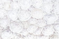Wall With A Background Of Paper Flowers Handmade Craft Creative Abstraction Stock Image - 89757861