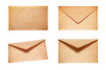 Set With 4 Yellow Envelopes Royalty Free Stock Photography - 89798597