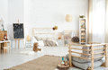 Spacious Kid`s Bedroom Stock Images - 89838404