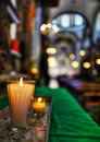 Church Candles Stock Images - 89865884