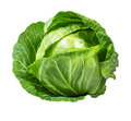 Green Cabbage Isolated On White Royalty Free Stock Photo - 89939615