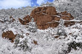 Garden Of The Gods Park In Winter Stock Photography - 89940452