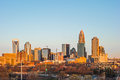 Charlotte North Carolina Early Morning Sunrise In Spring Stock Image - 89940971