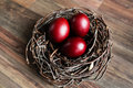 Easter Eggs In The Nest Royalty Free Stock Photography - 89956317