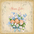 Happy Easter Card Royalty Free Stock Photo - 89968505