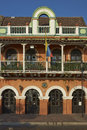 Colourful Buildings Of Cartagena De Indias In Colombia Royalty Free Stock Images - 89986349