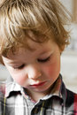 Sorrow Of The Little Boy Royalty Free Stock Photo - 900325