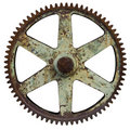 Big Old Rusty Gear Royalty Free Stock Photography - 9004347