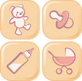 Baby Icons Stock Images - 9009964