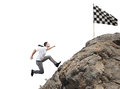 Difficult Career And Achievement Business Goal Royalty Free Stock Images - 90007159