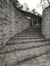 Curve Stone Stairway Stock Photography - 90008792