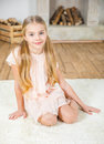 Cute Little Girl Stock Photos - 90047043