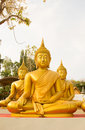 Big Golden Buddha Statue In Thailand Phichit, Thailand Royalty Free Stock Photo - 90047455
