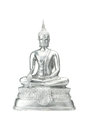Buddha Statue On A White. Stock Images - 90081484