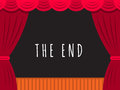 Theatre Stage Banner Royalty Free Stock Image - 90088326
