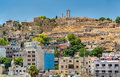 Cityscape Of Amman With The Citadel, Jordan Royalty Free Stock Photography - 90097887