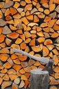 Fire Wood Royalty Free Stock Image - 9018816