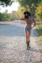 Country Girl Royalty Free Stock Photography - 90148367