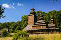 Old Wooden Church In The Village Stock Photos - 90156463