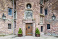 Glamis, United Kingdom - August 17, 2014: The Entrance Of Glamis Castle Stock Image - 90157261